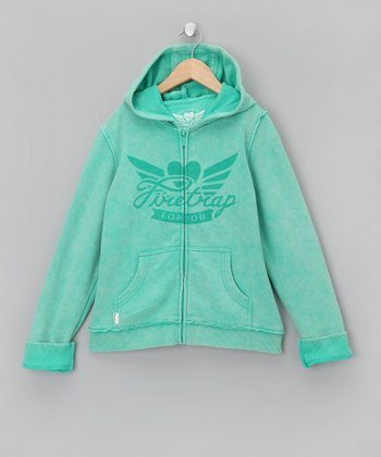 Jade Zip-Up Hoodie - Girls