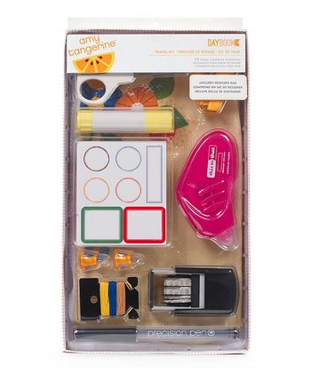 Amy Tangerine Scrapbook Travel Set