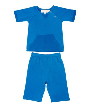 Blueberry Reed Tee & Pants - Infant