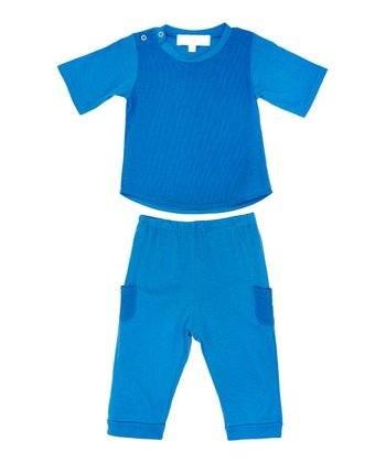 Blueberry Tommy Tee & Pants - Infant