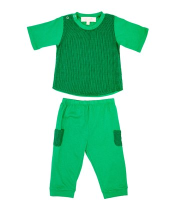 Grass Tommy Tee & Pants - Infant