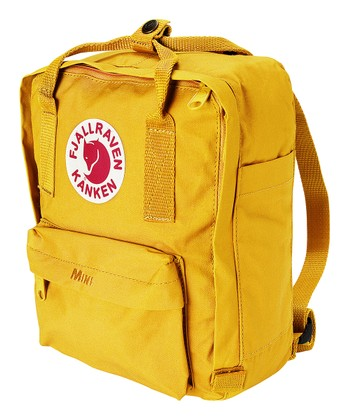 Warm Yellow Classic Kånken Backpack
