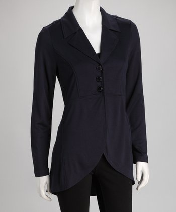 Dark Blue Duster