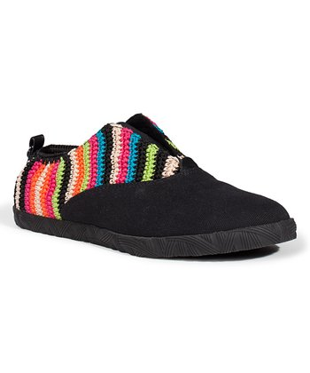Global Stripe Brodie Slip-On Shoe