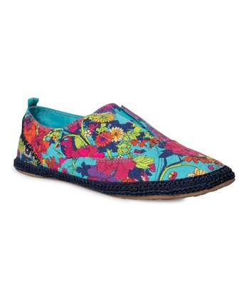 Aqua Flower Power Rhapsody Slip-On Shoe
