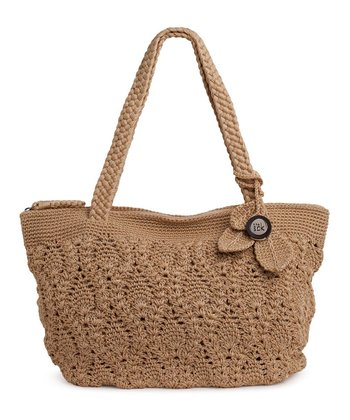 Bamboo Crocheted Shoulder Bag