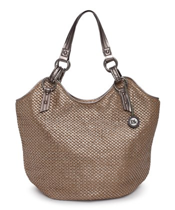 Metallic Burst Shoulder Bag
