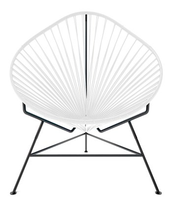White & Black Acapulco Chair