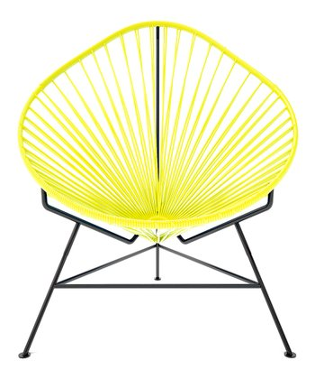 Yellow & Black Acapulco Chair