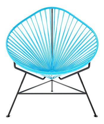 Blue & Black Acapulco Chair