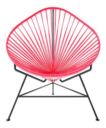 Pink & Black Acapulco Chair