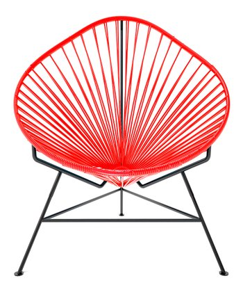 Red & Black Acapulco Chair