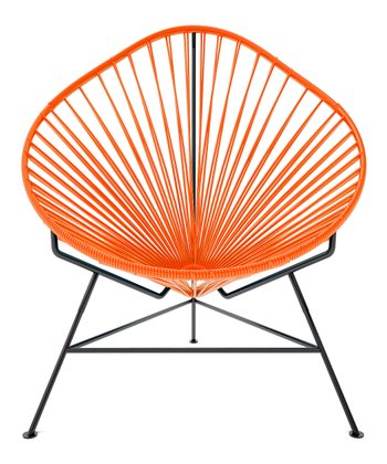 Orange & Black Acapulco Chair
