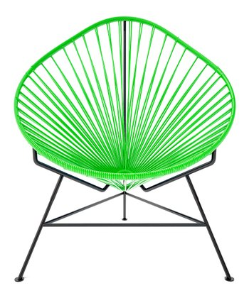 Olive & Black Acapulco Chair