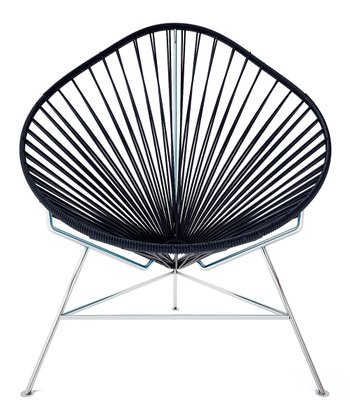 Black & White Acapulco Chair