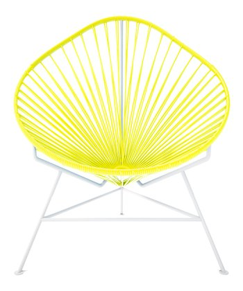Yellow & White Acapulco Chair