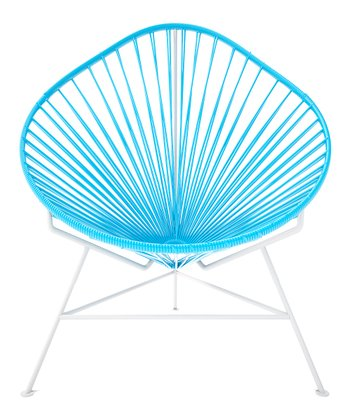 Blue & White Acapulco Chair