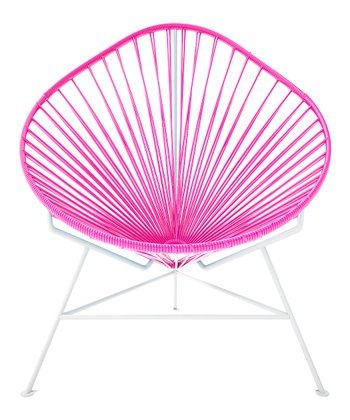 Pink & White Acapulco Chair