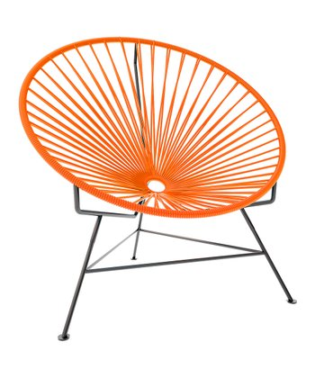 Orange & Black Chair