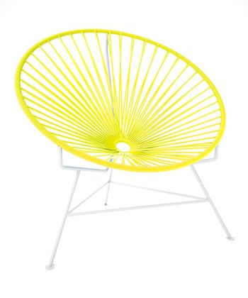 Yellow & White Chair