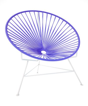 Purple & White Chair