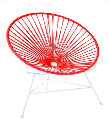 Red & White Chair