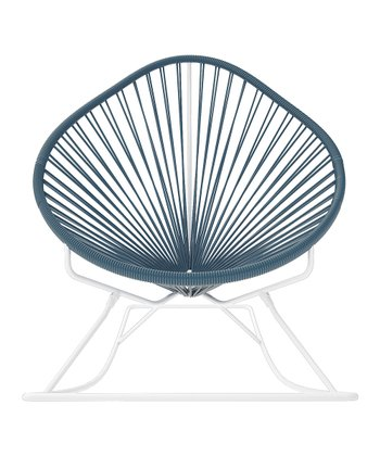 Gray & White Acapulco Rocker