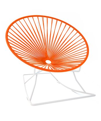 Orange & White Rocker
