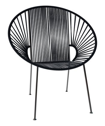 Black Concha Chair