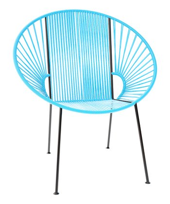 Blue & Black Concha Chair
