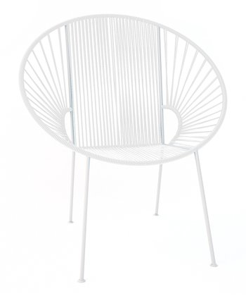 White Concha Chair