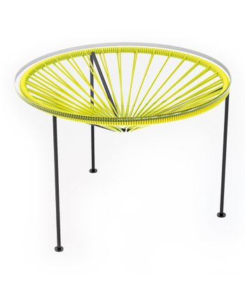 Yellow & Black Zica Table