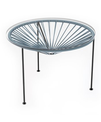 Gray & Black Zica Table
