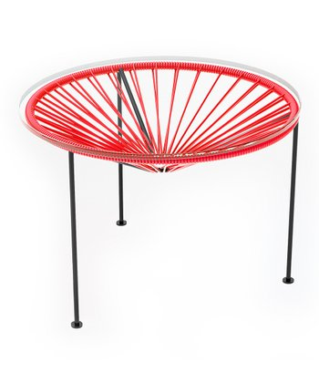 Red & Black Zica Table