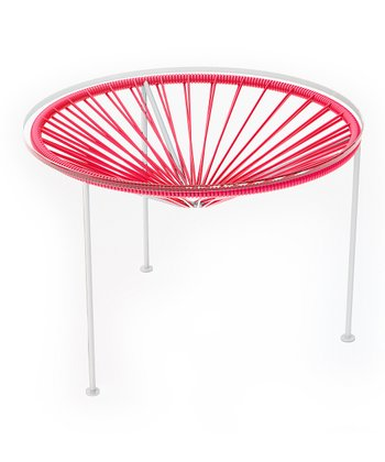 Pink & White Zica Table