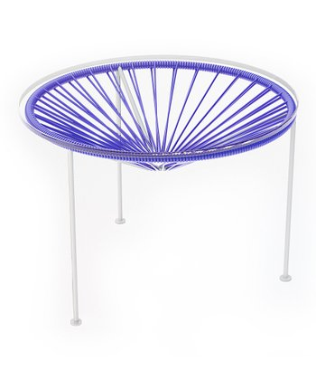 Purple & White Zica Table