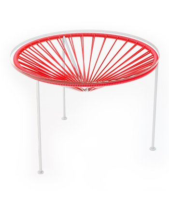 Red & White Zica Table