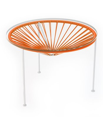 Orange & White Zica Table