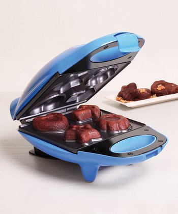 Blue Nonstick Mini Brownie Maker