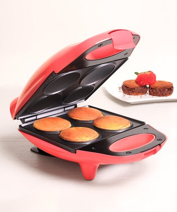 Coral Nonstick Mini Whoopie Pie Maker