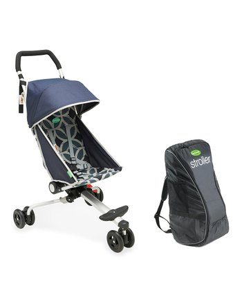 Geometric Midnight Stroller & Backpack