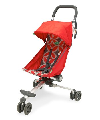 Geometric Red Stroller & Backpack