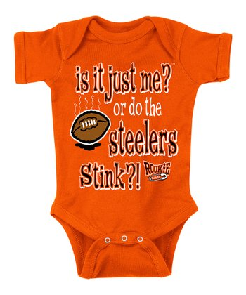 Orange 'The Steelers Stink' Bodysuit - Infant