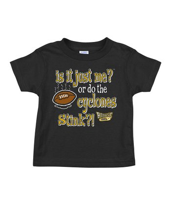 Black 'Do the Cyclones Stink?' Tee - Infant & Toddler