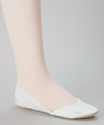 White Alina Demi-Slipper - Women