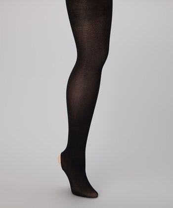 Black Supersoft Convertible Tights - Women