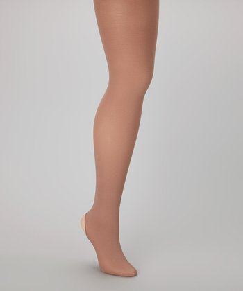 Tan Supersoft Convertible Tights - Women