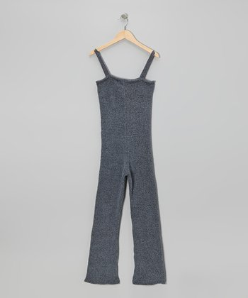 Charcoal Silktex Jumpsuit - Women