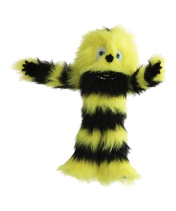 Yellow & Black Monster Puppet