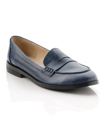 Navy Mona Loafer